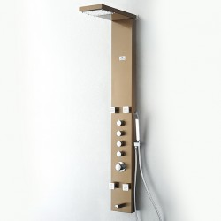 FSP8006BB Verona (Brushed Bronze) Thermostatic Shower Massage Panel